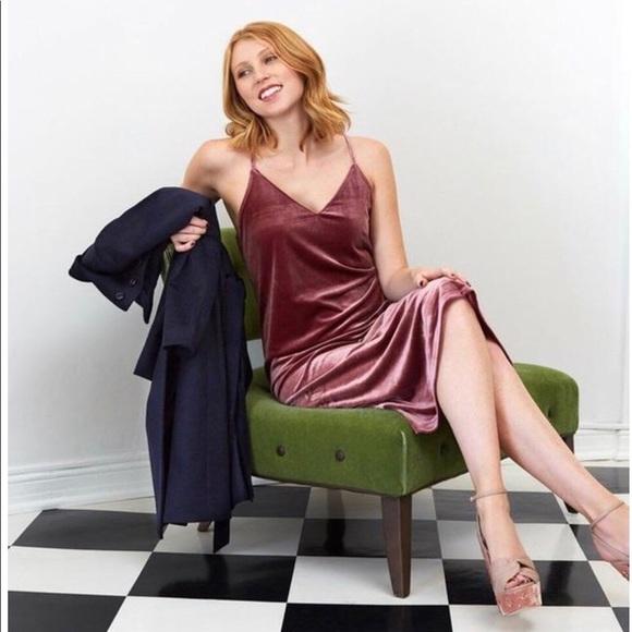 ee2175c84a89 Dresses | Uniqlo Velvet Camisole | Poshmark
